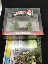 Zombicide 2 Kickstarter Exclusive Ross the Manager NEW MIB - FREE SHIPPING