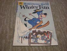 Huckleberry Hound Winter Fun #1054(1959)  Dell Comics