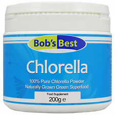 Chlorella - 200g - Natural Superfood from Bob's Best Natural Health Range