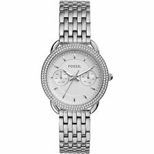 FOSSIL Women's TAILOR Multifunctional Stainless Steel watch with Crystals ES4054