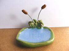 Little Guys Pond Habitat For Miniature Animal Figurine Cindy Pacileo Pottery