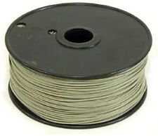 1000 Foot, 22 Gauge Solid Hook Up Wire - Gray