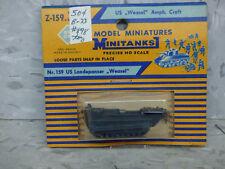 Roco Minitanks (NEW) WWII US Wweasel Amphibious Transport Vehicle Lot 1667K