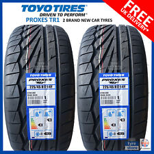 2X New 225 45 17 TOYO PROXES TR1 94Y XL 225/45R17 2254517 *B WET GRIP* (2 TYRES)