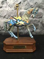 Impulse Giftware John Zalar C. 1900's Carousel Music Horse