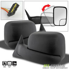 Left+Right 1994-1997 Dodge Ram 1500 2500 Tow Extend Flip Up POWER Side Mirrors