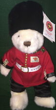"""Hard Rock Cafe ONLINE 2004 COUNTRY BEAR Series - CANADA - 10"""" Teddy Bear ARCHIVE"""