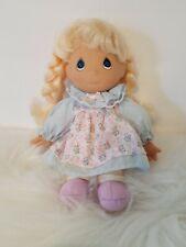 "Precious Moments 7.5"" Little Girl In Dress Plush"