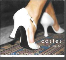 CD COMPIL DIGIPACK 15 TITRES--COSTES LA SUITE--STEPHANE POMPOUGNAC
