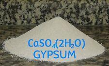 GYPSUM POWDER - Calcium sulfate dihydrate - mushroom aditive 4oz -2lb