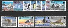 BRITISH ANTARCTIC TERR. SG290/301 1998 BIRDS  MNH
