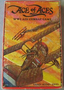 Ace of Aces Handy Rotary Series 100% complete; 1980 Nova; WWI dogfighting game