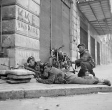 WW2  Photo WWII British Paratroops Athens Greece 1944  World War Two / 1629