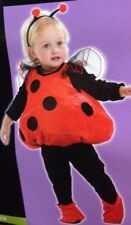 Ladybug Plush Baby Halloween Costume 3 Piece Toddler 1T-2T 12-24 MOS New w Tags