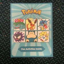 """Lote de 50 piezas de Pokemon la diversión actividad Books 11"""" X 8.5"""" """"ideal para fiestas de 6 páginas"""