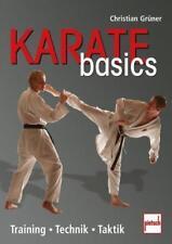 Karate basics von Christian Grüner (2011, Taschenbuch)