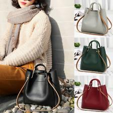 Women Lady Leather Handbags Shoulder Messenger Satchel Tote Crossbody Bags Purse