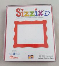 Sizzix Originals Jelly Picture Frame Red Large Dies Cutter 38-0166 Plastic Case