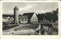 """Ansichtskarte Holzminden / Weser """"Jugendherberge"""" - schwarz/weiß"""