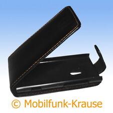 Funda abatible, funda, estuche, funda para móvil F. Nokia Lumia 800 (negro)