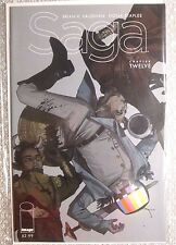 SAGA #12 (VFNM) BRIAN K VAUGHAN FIONA STAPLES 1st print Image 2013 SOLD-OUT Chew