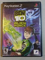 Ben 10 Alien Force - PS2 - PlayStation 2