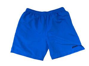Asics Mens Blue Jogging Run Shorts Size Large 32 Inch Waist