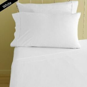 1000 Thread Count Egyptian Cotton Home Bedding Collection All Size White Color*