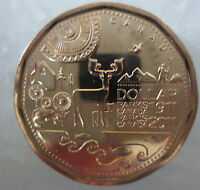 2011 PARKS CANADA LOONIE UNCIRCULATED FROM MINT ROLL