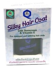 NEW QUEEN SILKY HAIR COAT WITH SUNSCREEN & VITAMIN E FOR DAMAGED HAIR ENDS 30 ML