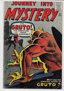Atlas Comics - JOURNEY INTO MYSTERY #67 April 1961 - Gruto