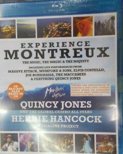 Experience Montreux Quincy Jones, Herbie Hancock BLU-RAY BRAND NEW
