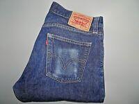 """LEVIS 514 Mens Jeans Blue Slim Straight Zip SIZE W32 L32 Waist 32"""" Leg 32"""" -SALE"""
