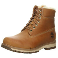 Timberland Mens Radford 6 Inch Waterproof Warm Lined Brown Outdoor Hiking Boots