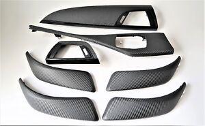 * BMW Série 1 14 E87 Decor Strip Trim Set Dash Dashboard Gear Argent Titan Matt