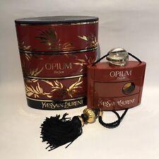 YSL Yves Saint Laurent OPIUM Parfum Extrait 15ml  Vintage