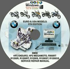 BMW R1200R R1200RT R1200S R1200ST R1200GS (USA-EUROPE) SERVICE REPAIR MANUAL DVD