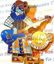 Hard Rock Cafe 2005 Detroit Cinco De Mayo Aztec Playing Guitar Pin New LE