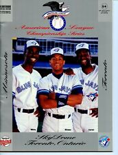 1991 Toronto Blue Jays vs Minnesota Twins  ALCS Program
