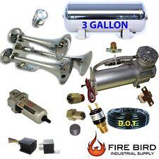 3 Gallon Stainless Air Tank compressor trainhorn air suspension drain BRPSBW xzx