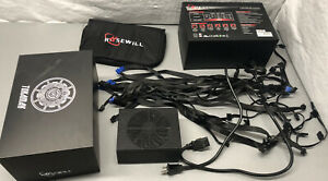 Rosewill Tokamak 1500 Watt Modular Power Supply, 80 Plus TITANIUM Rating PSU