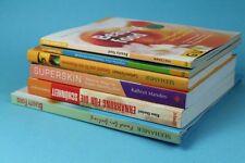 6 Bücher zum Thema Gesundheit + Essen bzw. Kochen von 1998 bis 2003