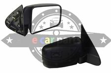 FORD COURIER PE-PH 1/1999-12/2006 RIGHT HAND SIDE DOOR MIRROR BLACK MANUAL