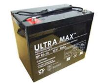 2 x 12v 80ah (Conforme 70Ah, 75ah) AGM/Gel Mobilité Batterie veille sauvegarde