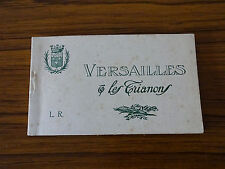 C1920s: 20 Cards with Views of Versailles, France: Original Cover