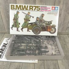 TAMIYA 16 - 1:35 - German Motorcycle BMW R/75 Side Car - OVP - #AM46124