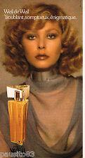 PUBLICITE ADVERTISING 055  1975  WEIL   parfum femme de WEIL