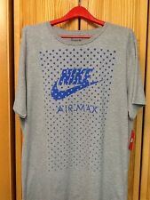 Nike 679665-063 MEN'S TEE-AIR MAX FILL DK GREY HEATHER Sz-XL