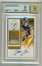 2015 Panini Contenders SP Variation Rc Auto Jesse James BGS 9