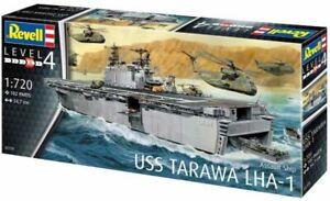 Revell G 5170 USS Tarawa LHA-1 Assault Carrier Ship plastic model kit 1/720